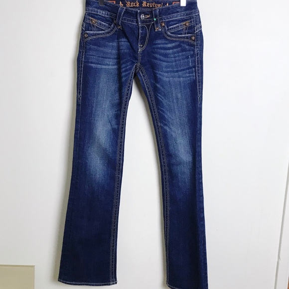 Rock Revival Denim - Rock Revival Jeans Gwen Boot Sz 27